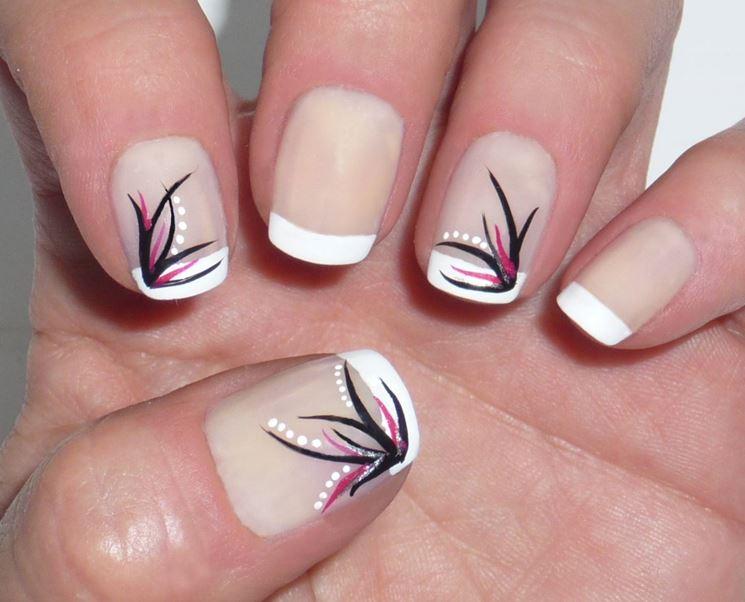 Molto French manicure - Cura delle unghie ZT83