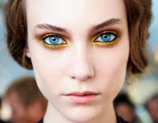 Ben noto Trucco occhi azzurri - Make up occhi - Trucco occhi azzurri SU18