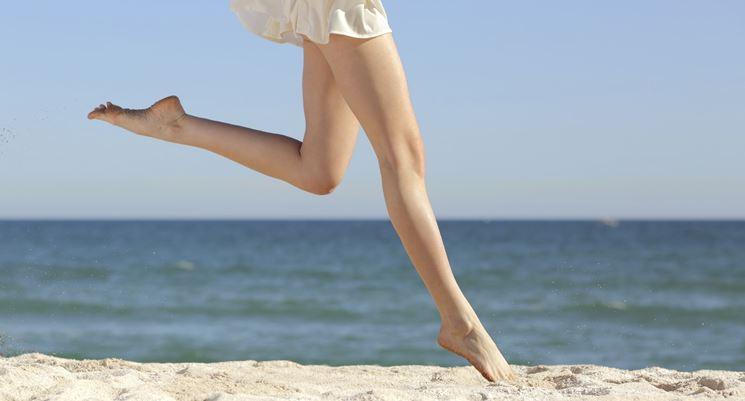 combattere gambe gonfie