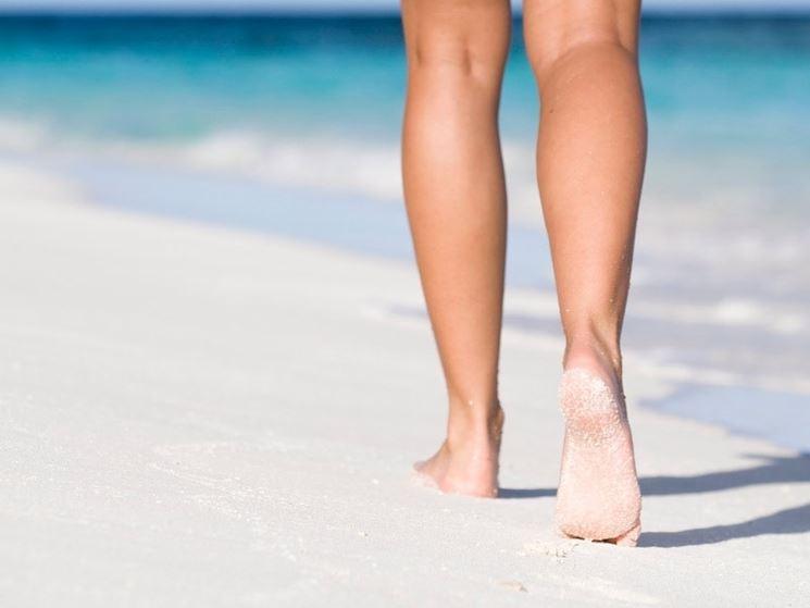 contrastare gambe gonfie